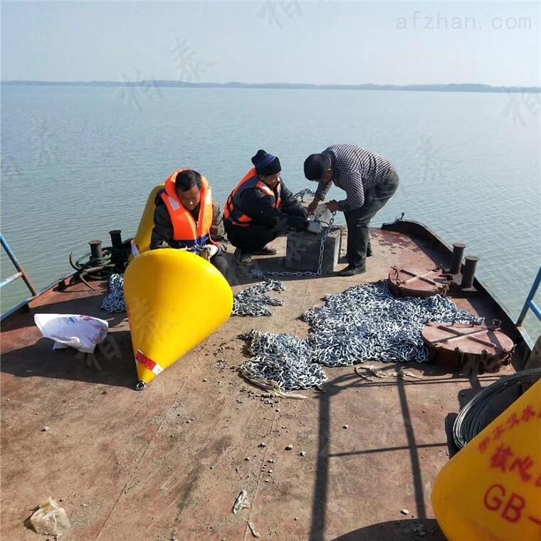 湖面警示浮筒 保护区水面界标