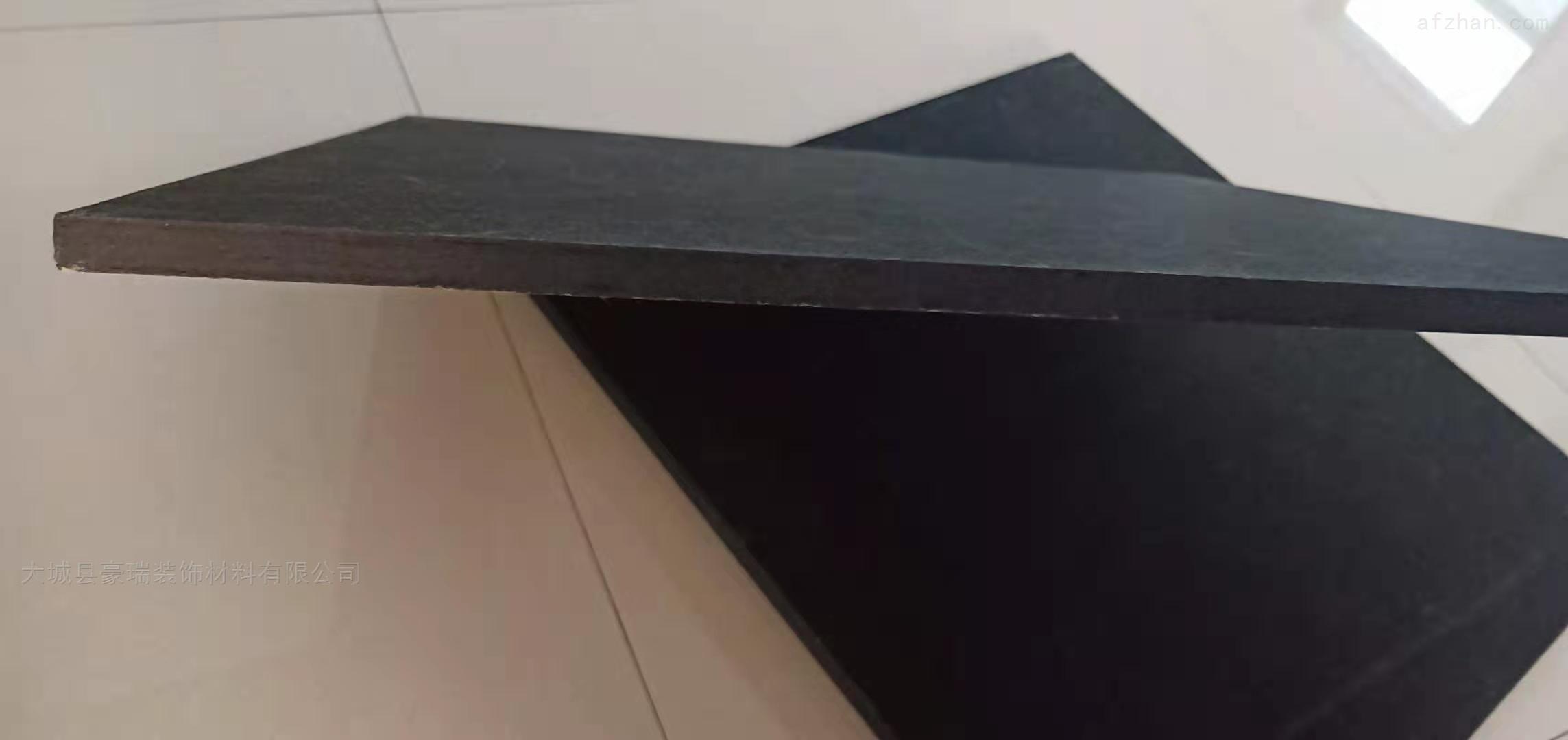豪瑞黑色岩棉玻纤板产品以绿色环保为理念