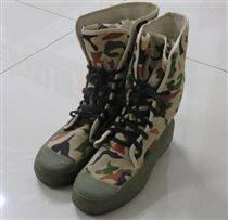 消防滅火防護靴布靴搶險救援靴 廠家直銷