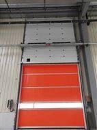 成都大众汽车厂安装的组合快速提升门