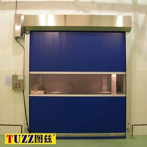 衢州厂房PVC防虫快速卷帘门