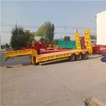 出口三轴13米液压爬梯运输挂车价格/性能