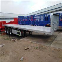出口自卸车集装箱平板半挂车长度尺寸