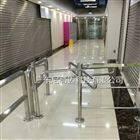 NGM商场不锈钢单线旋转门出入口简易十字单向门