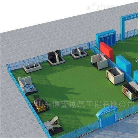 建筑工艺样板展示区施工方案