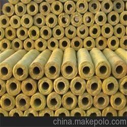 耐高温岩棉保温管 铝箔岩棉管 加工厂家