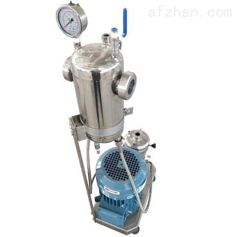 硫酸头孢喹诺混悬液研磨分散机