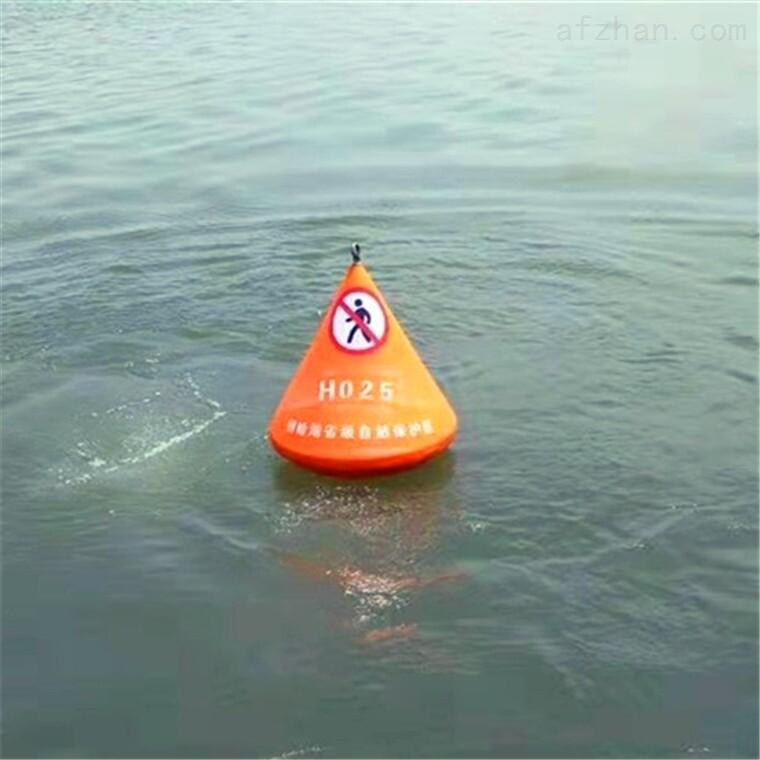 内河通航浮标 禁航标 水上警示标志浮筒