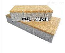 陶瓷透水砖 抗压防滑强度高 河南生产厂家L