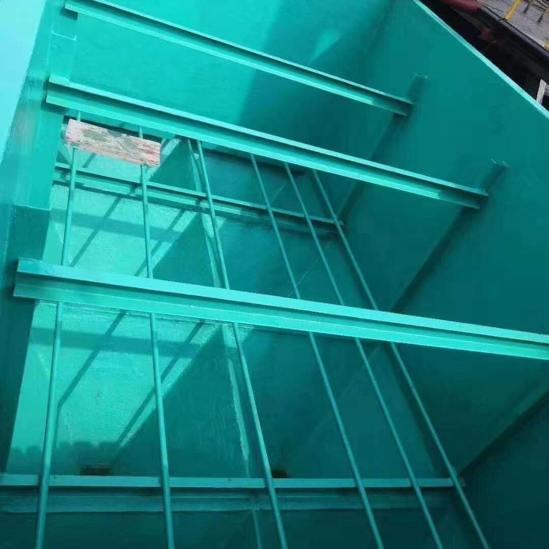 菏泽脱硫塔玻璃鳞片防腐施工