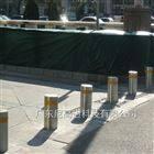 新疆工地升降隔离路桩 电动液压式防撞柱