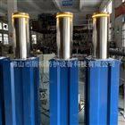 DB路口安装不锈钢液压自动升降防撞柱路桩