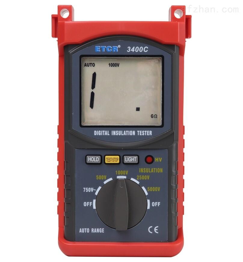 ETCR3400C便携式绝缘电阻表