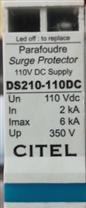 法国正品西岱尔防雷器避雷器DS210-110DC