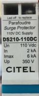 法國正品西岱爾防雷器避雷器DS210-110DC