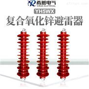 庆阳35千伏线路型避雷器HY5-51/134结构