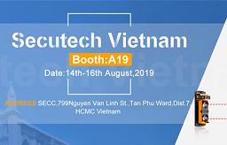 艾禮安即將參加2019年越南安防展