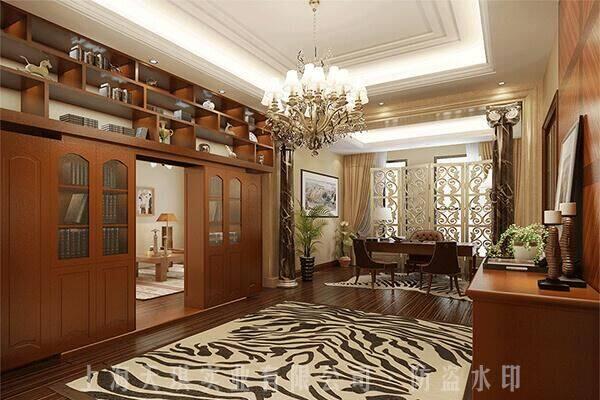 书柜密室门,密室机关隐形门,家庭内密室设计