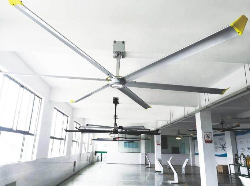 商场候车站通风降温推荐蓝宇工业风扇