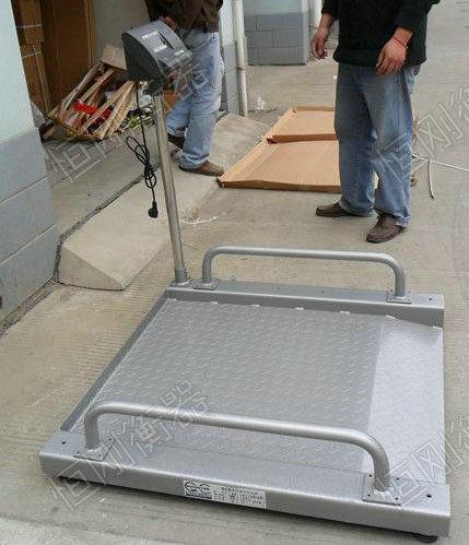 300kg带体重秤的轮椅
