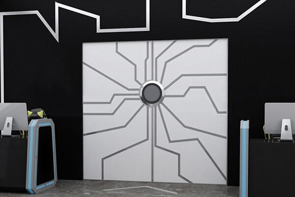 自动售货机网红门