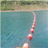 柏泰科技橘子洲湖面警示拦船浮标
